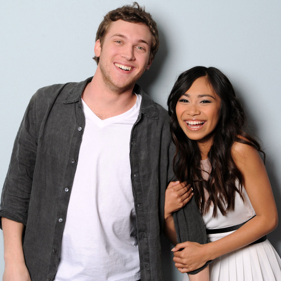 AMERICAN IDOL: The final 2: L-R: Phillip Phillips and Jessica Sanchez.
