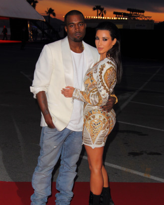 Kanye Is Writing Love Songs for Kim Now