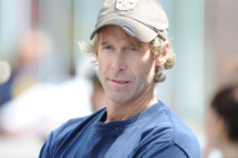 """Michael Bay sighting on the set of """"Pain And Gain"""" on April 14, 2012 in Miami, Florida."""