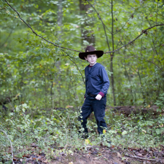 Carl Grimes (Chandler Riggs) - The Walking Dead - Season 2, Episode 11