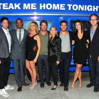 Show creator David Caspe, actors Daman Wayans Jr., Eliza Coupe, Zachary Knighton, Elisha Cuthbert, Adam Pally, Casey Wilson and executive producer Jonathan Groff attend The Paley Center for Media's An Evening with