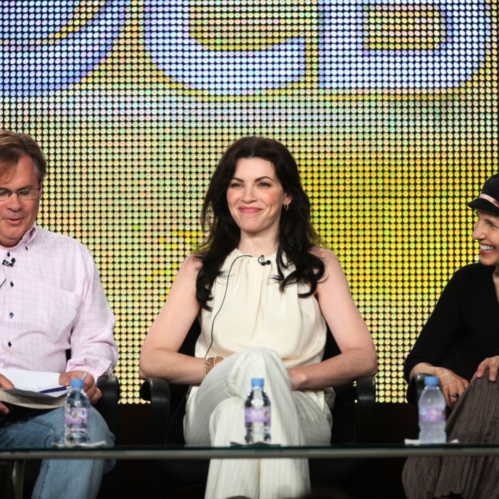 Executive Producer Robert King, actress Julianna Margulies and Executive Producer/Creator Michelle King of the television show