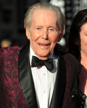 Actor Peter O'Toole arrives at TCM Classic Film Festival Opening Night Gala and World Premiere of