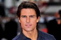 Tom Cruise attends the UK Film Premiere of 'Knight And Day' at Odeon Leicester Square on July 22, 2010 in London, England.