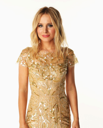 Kristen Bell poses in the Wonderwall.com Portrait Studio during 2012 CMT Music awards at the Bridgestone Arena on June 6, 2012 in Nashville, Tennessee.