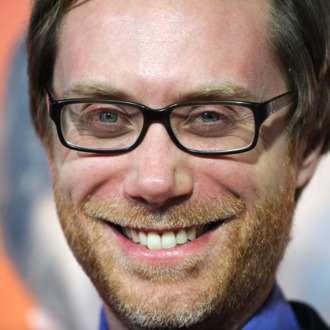 Actor Stephen Merchant arrives at the premiere of