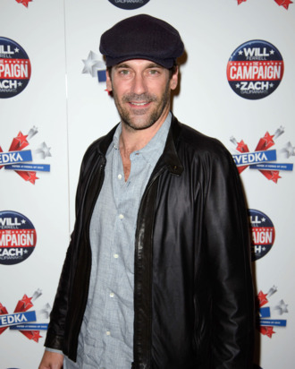 Jon Hamm - The Peggy Siegal Company and Svedka Vodka Presents a Special Screening of Warner Bros. Pictures' THE CAMPAIGN - Sunshine Landmark and Sons of Essex, NYC
