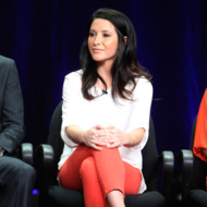 "Dancer Bristol Palin speaks onstage at the ""Dancing with the Stars: All-Stars"" panel during the Disney/ABC Television Group portion of the 2012 Summer TCA Tour on July 27, 2012 in Beverly Hills, California."