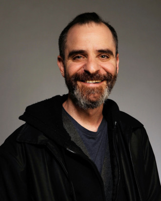 Actor David Rakoff from the film