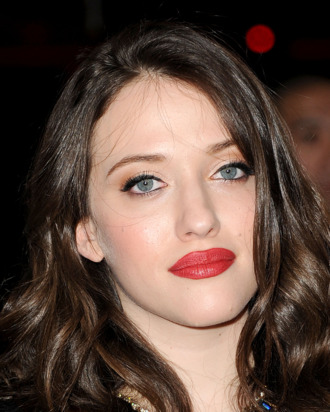 LOS ANGELES, CA - JANUARY 11: Actress Kat Dennings arrives at the 2012 People's Choice Awards held at Nokia Theatre L.A. Live on January 11, 2012 in Los Angeles, California. (Photo by Jason Merritt/Getty Images)