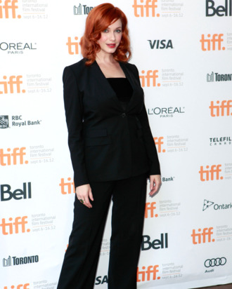 Actress Christina Hendricks attends Jason Reitman all-star cast live table read of Alan Ball's screenplay for
