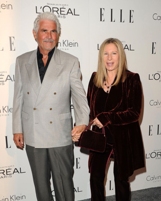 James Brolin and Barbra Streisand attends ELLE's 18th Annual Women In Hollywood Event on October 17, 2011 in Beverly Hills, California.