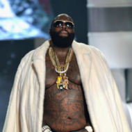 ATLANTA, GA - SEPTEMBER 29:  Rick Ross performs onstage at the 2012 BET Hip Hop Awards at Boisfeuillet Jones Atlanta Civic Center on September 29, 2012 in Atlanta, Georgia.  (Photo by Rick Diamond/Getty Images for BET)