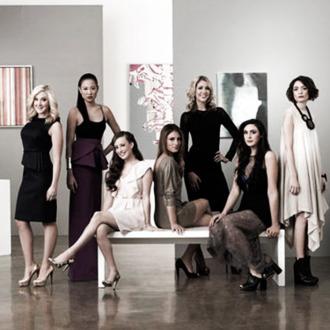 GALLERY GIRLS -- Season:1 -- Pictured: (l-r) Amy Poliakoff, Angela Pham, Maggie Schaffer, Liz Margulies, Kerri Lisa, Claudia Martinez, Chantal Chadwick