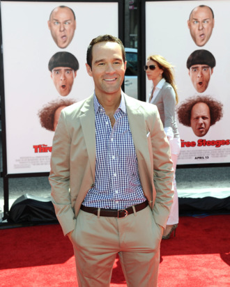Actor Chris Diamantopoulos attends the Los Angeles premiere of