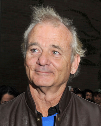 Actor Bill Murray arrives at the
