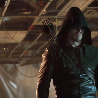 Arrow - Pictured: Stephen Amell as Arrow