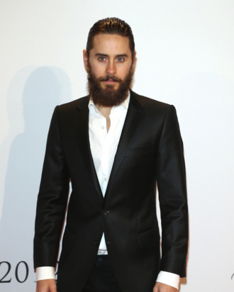 Jared Leto attends the 21st UNESCO Charity Gala 2012 on October 27, 2012 in Dusseldorf, Germany.