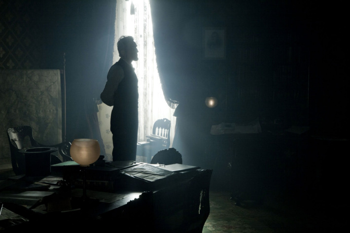 """LINCOLN"" - Daniel Day-Lewis stars as President Abraham Lincoln in this scene from director Steven Spielberg's drama ""Lincoln"" from DreamWorks Pictures and Twentieth Century Fox."