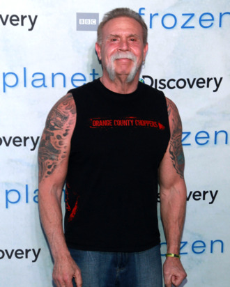 Paul Teutul Sr. poses for photos at the