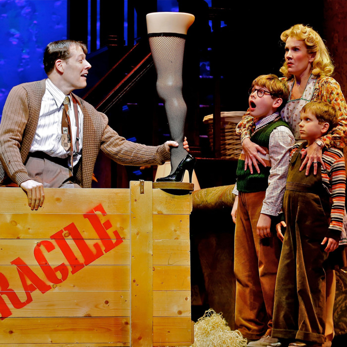 theater review a christmas story the musical is a true gift - What Channel Is A Christmas Story On