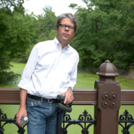 """Writer Jonathan Franzen attends the HBO Documentary Films Celebrates """"Birders: The Central Park Effect"""" With A Picnic In The Park on June 26, 2012 in New York City."""