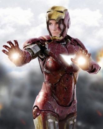 What If Sandra Bullock Played Iron Man?