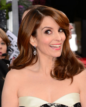 Actress Tina Fey arrives at the Golden Globe awards ceremony in Beverly Hills on January 13, 2013. AFP PHOTO / Frederic J. BROWN (Photo credit should read FREDERIC J. BROWN/AFP/Getty Images)