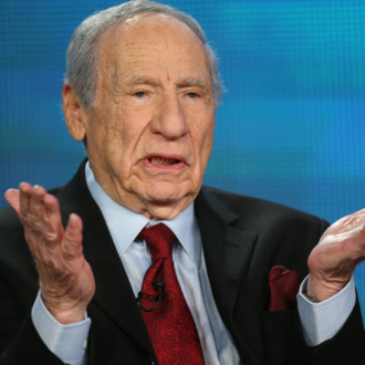 PASADENA, CA - JANUARY 14: Actor/Director/Writer Mel Brooks speaks onstage during the PBS panel for 'AMERICAN MASTERS