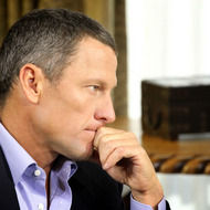 In this handout photo provided by the Oprah Winfrey Network, Oprah Winfrey (not pictured) speaks with Lance Armstrong during an interview regarding the controversy surrounding his cycling career January 14, 2013 in Austin, Texas. Oprah Winfrey's exclusive no-holds-barred interview with Lance Armstrong,