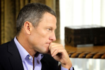 "In this handout photo provided by the Oprah Winfrey Network, Oprah Winfrey (not pictured) speaks with Lance Armstrong during an interview regarding the controversy surrounding his cycling career January 14, 2013 in Austin, Texas.  Oprah Winfrey's exclusive no-holds-barred interview with Lance Armstrong, ""Oprah and Lance Armstrong: The Worldwide Exclusive,"" has expanded to air as a two-night event on OWN: Oprah Winfrey Network.  The special episode of ""Oprah's Next Chapter"" will air Thursday, January 17 from 9-10:30 p.m. ET/PT (as previously announced) and Friday, January 18 at 9 p.m. ET/PT"