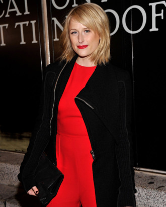 Actress Mamie Gummer attends the