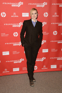 """Actress Evan Rachel Wood attends """"The Necessary Death Of Charlie Countryman"""" premiere at Eccles Center Theatre during the 2013 Sundance Film Festival on January 21, 2013 in Park City, Utah."""
