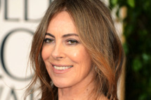 Director Kathryn Bigelow arrives at the 70th Annual Golden Globe Awards held at The Beverly Hilton Hotel on January 13, 2013 in Beverly Hills, California.
