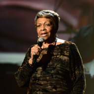 Singer Cissy Houston performs onstage during the 2012 BET Awards at The Shrine Auditorium on July 1, 2012 in Los Angeles, California.