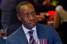 Don Cheadle as Marty Kaan in House of Lies (Season 2, Episode 2).