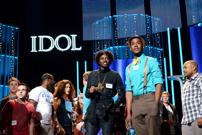 """AMERICAN IDOL: Drama and desperation escalate behind the scenes as the pressure mounts during the intense """"Hollywood Rounds"""" which kick off with the guys, competing on Wednesday, Feb. 6 (8:00-10:00 PM ET/PT) and Thursday, Feb. 7 (8:00-9:00 PM ET/PT). The girls get their chance to win over the judges beginning Wednesday, Feb. 13 (8:00-10:00 PM ET/PT)"""