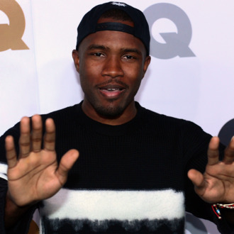 Frank Ocean poses on arrival for the GQ Men of the Year Party at Chateau Marmont on Sunset Blvd., in Hollywood, California, on November 13, 2012.
