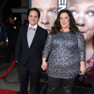"Actor Ben Falcone and actress Melissa McCarthy attend the Premiere Of Universal Pictures' ""Identity Theft"" on February 4, 2013 in Westwood, California."