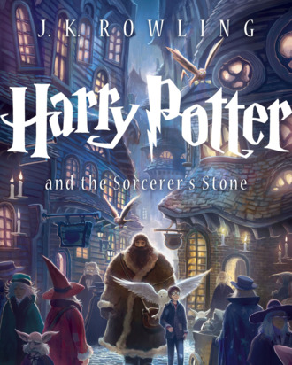 The new trade paperback cover of Harry Potter And The Sorcerer's Stone.