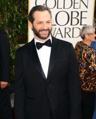 Filmmaker Judd Apatow arrives at the 70th Annual Golden Globe Awards held at The Beverly Hilton Hotel on January 13, 2013 in Beverly Hills, California.