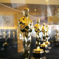 """Opening of the exhibition """"meet the Oscars"""" featuring the fifty scar statuettes to be presented at the 80th Academy Awards, 1 February  2008, at the Hollywood and Highland Center in Los Angeles, California."""
