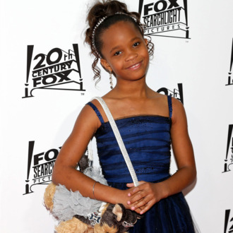 Actress Quvenzhane Wallis attends the 20th Century Fox And Fox Searchlight Pictures' Academy Award Nominees Celebration at Lure on February 24, 2013 in Hollywood, California.
