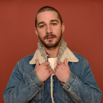 Actor Shia LaBeouf poses for a portrait during the 2013 Sundance Film Festival at the Getty Images Portrait Studio at Village at the Lift on January 22, 2013 in Park City, Utah.