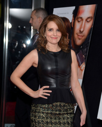 Actress Tina Fey attends the