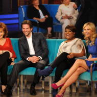 "THE VIEW - Actor Bradley Cooper was the guest today, January 8, 2012, on ""The View.""  ""The View"" airs Monday-Friday (11:00 am-12:00 pm, ET) on the ABC Television Network."