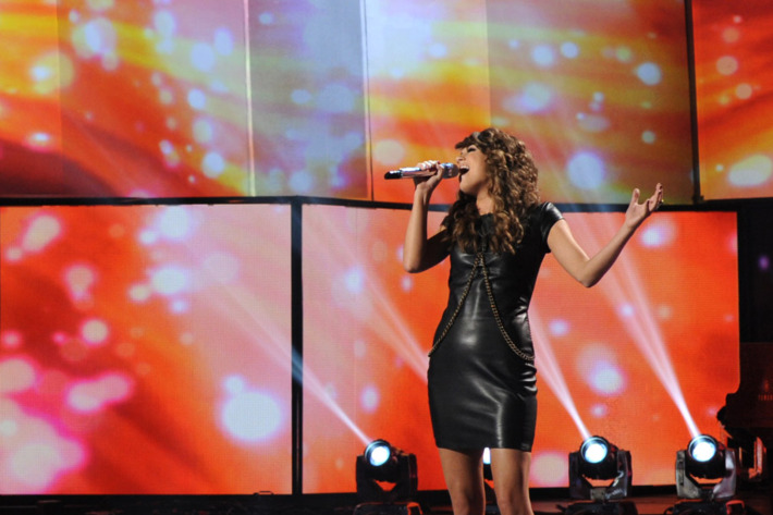 AMERICAN IDOL: Angie Miller performs on AMERICAN IDOL airing Wednesday, March 13 (8:00-10:00 PM ET/PT) on FOX.
