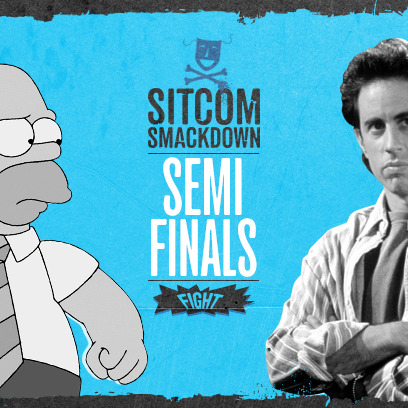 The Best Sitcom Of Past 30 Years Semifinals Seinfeld Vs Simpsons