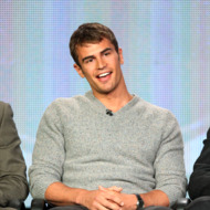 """Actor Theo James of """"Golden Boy"""" speaks onstage during the CBS portion of the 2013 Winter TCA Tour at Langham Hotel on January 12, 2013 in Pasadena, California."""