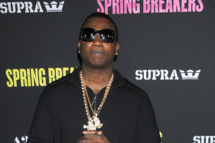 Actor GUCCI MANE at the 'Spring Breakers'  Los Angeles Premiere held at the ArcLight Cinema,  Hollywood
